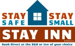 Stay small, stay safe, stay inn logo